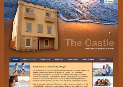 Castle Beach House