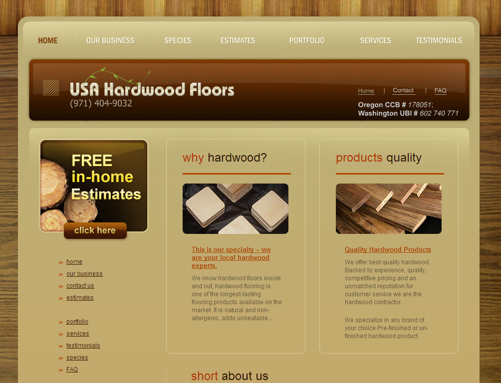 USA Hardwood Floors